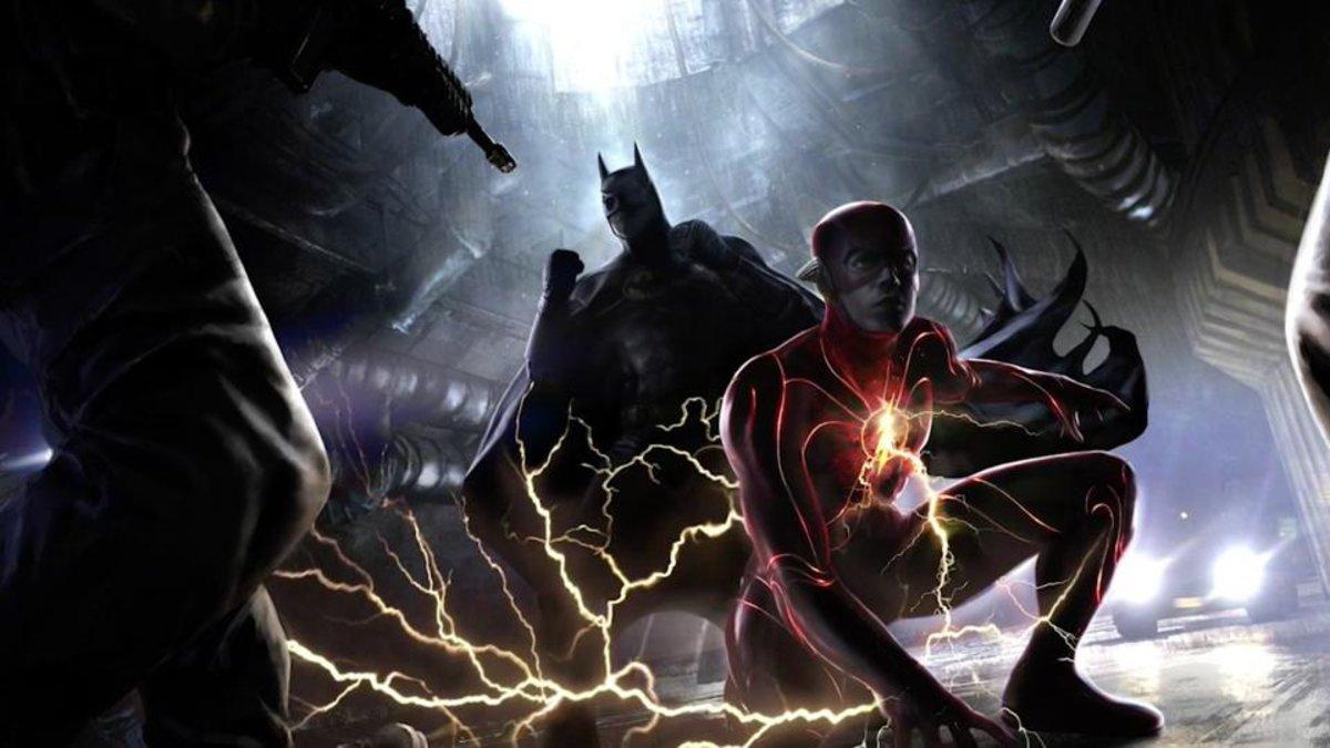 DC Fandome Reveals New The Batman And Flash Movie Info & Concept Art