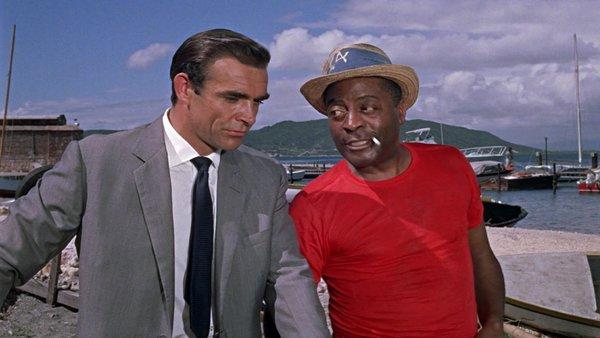 Goldfinger Sean Connery Gert Frobe