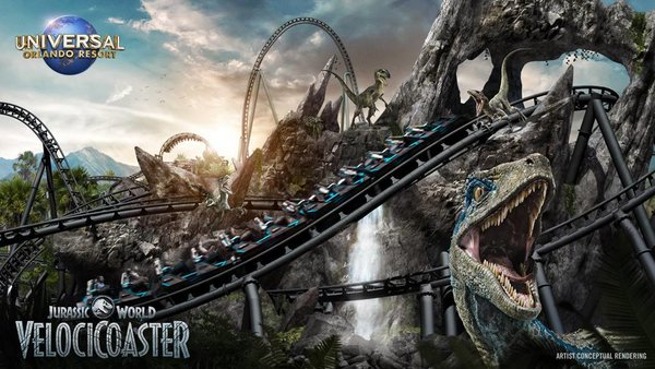Universal Orlando Jurassic World Velocicoaster