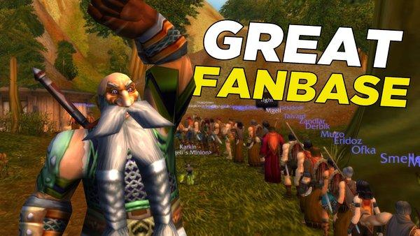 World of Warcraft Dwarf Fanbase