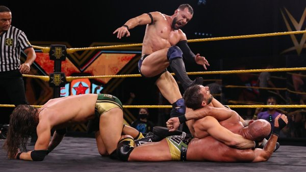 WWE NXT Title STILL Vacant After Controversial 4-Way Iron Man Match