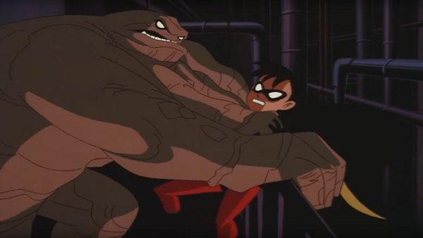 Over The Edge BTAS Batgirl