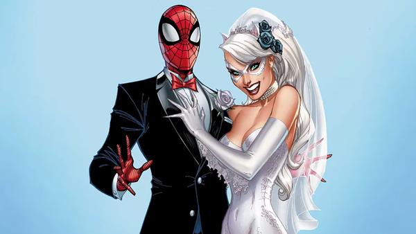Spider-Man Black Cat Wedding