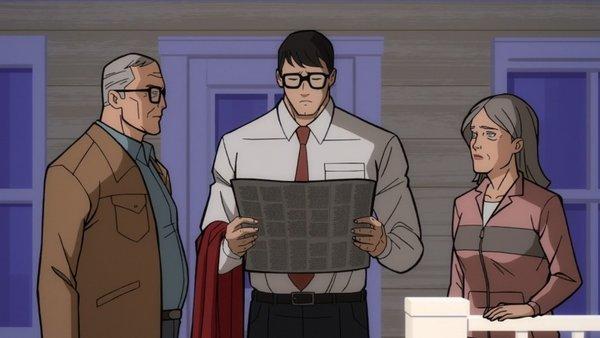 Clark Kent Superman Man of tomorrow