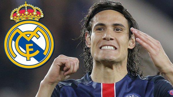 Edinson Cavani Real Madrid