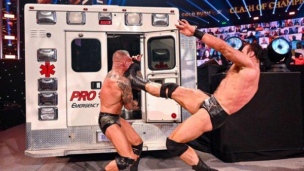 WWE Clash of Champions 2020 Drew McIntyre Randy Orton