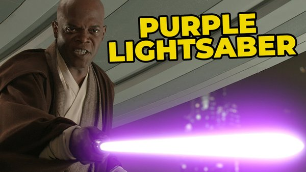 Star Wars Revenge of the Sith Mace Windu Samuel L Jackson