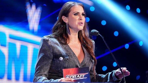Stephanie McMahon WWE Draft 2020