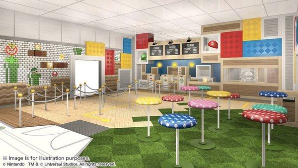 Mario Cafe Nintendo Universal Studio Japan