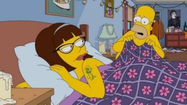 Simpsons Every Man's Dream