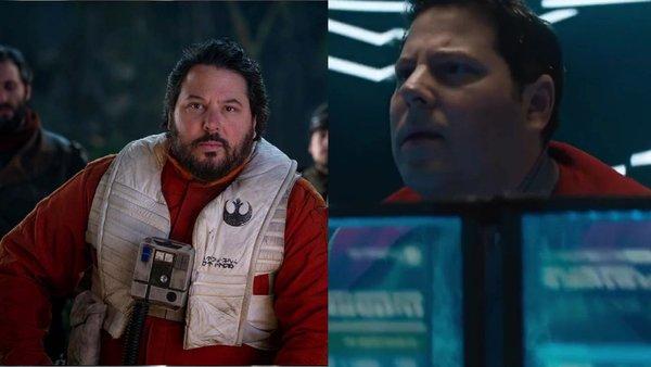 Star Trek Star Wars Simon Pegg