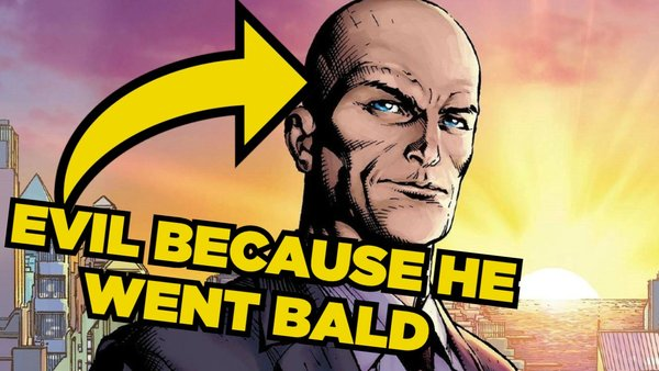 Lex Luthor Bald