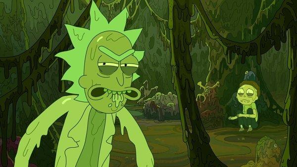 Rick and Morty Toxic Rick
