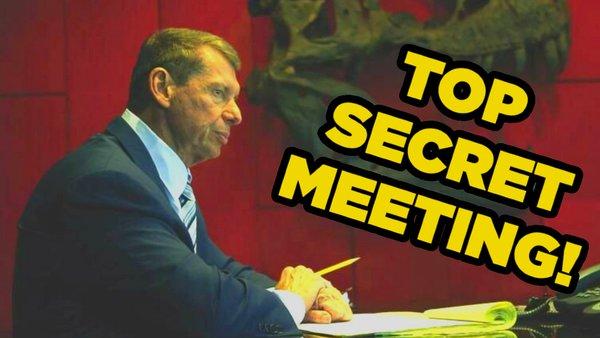 Vince McMahon secret meeting