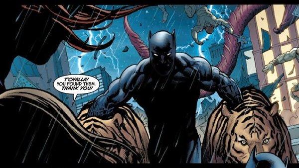 Symbiote Black Panther
