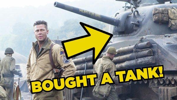 Brad Pitt Tank