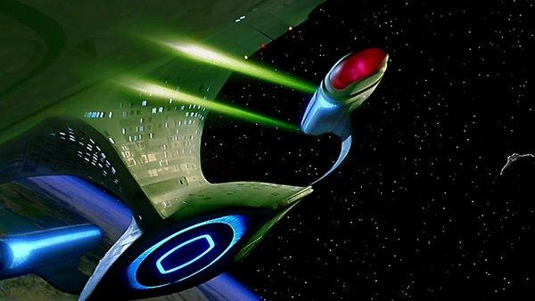 Star Trek Generations Enterprise D Destruction