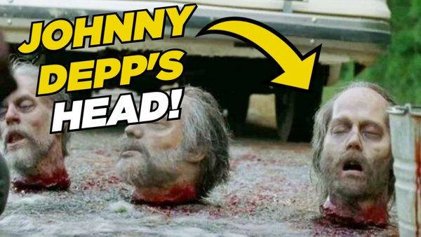 The Walking Dead Johnny Depp