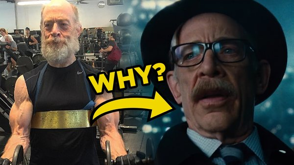 JK Simmons Is A Policeman