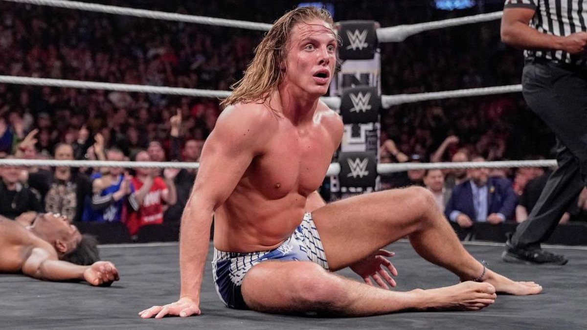 WWE's Matt Riddle Just Lost His Forename