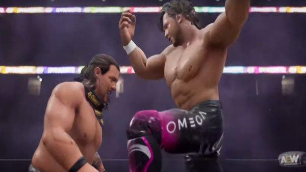 AEW Video Games WWE 2K22