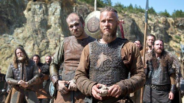 Vikings Ragnar And Floki