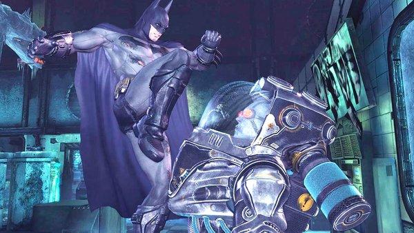Batman Arkham city mr freeze