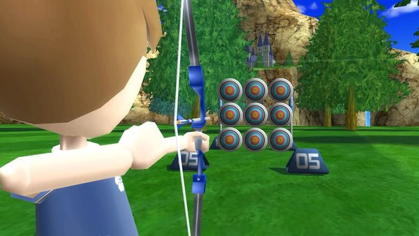 Wii Sports Resort Archery