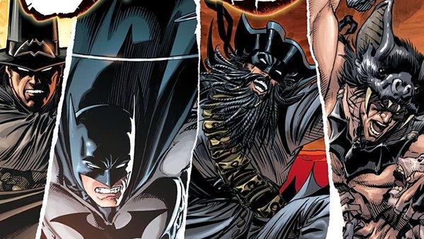 Batman Who Laughs Robins