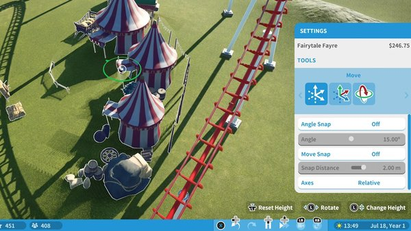 Planet Coaster Console Edition Scenery