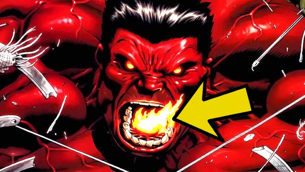 Red Hulk Fire