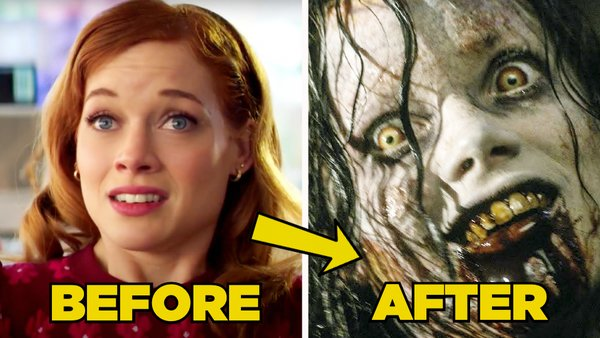 Evil dead before after