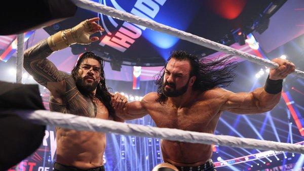 Roman Reigns Drew McIntyre