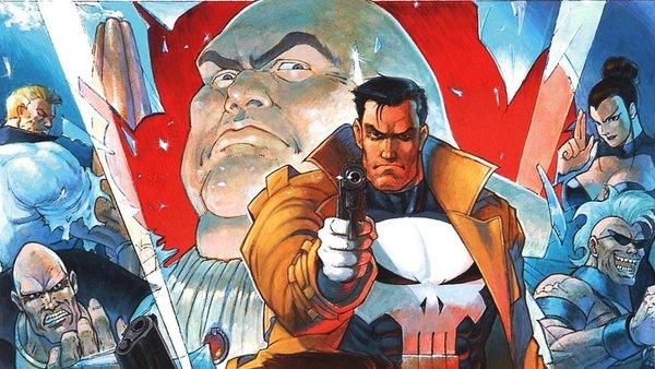 The Punisher 1993 Art