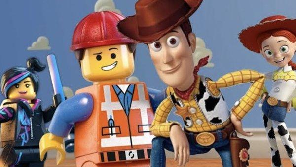 lego movie toy story