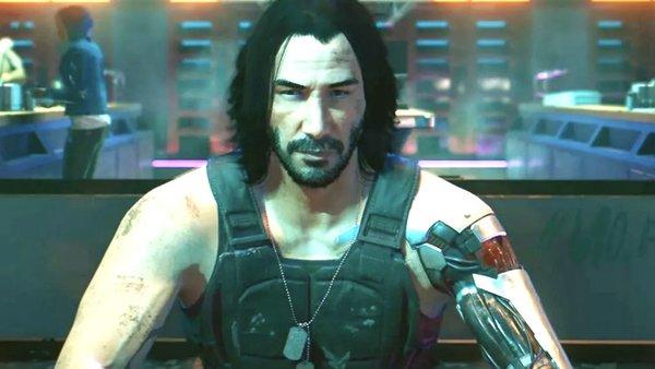 Keanu Reves Cyberpunk
