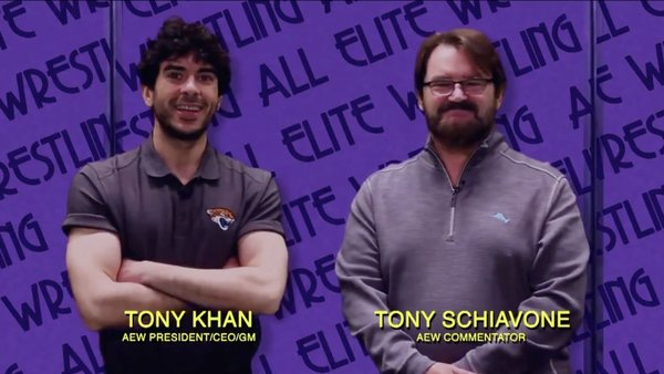 Tony Khan Tony Schiavone Impact