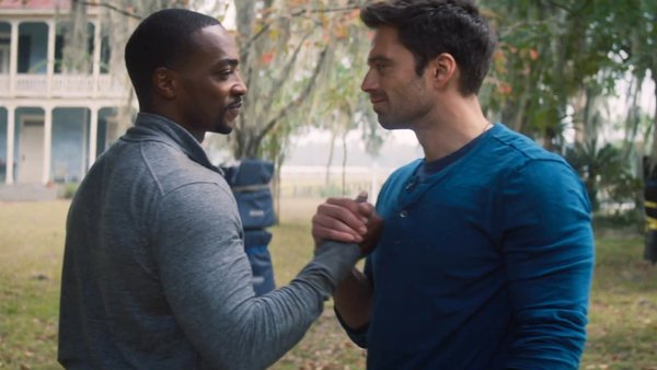 The Falcon and the Winter Soldier Bucky and Falcon