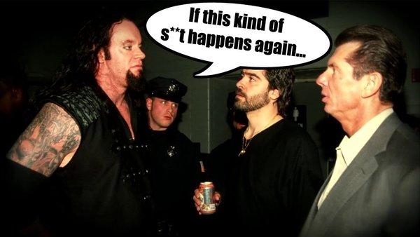 The Undertaker Vince McMahon