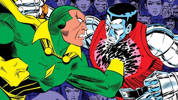 Uncanny X-Men 191 Vision Colossus