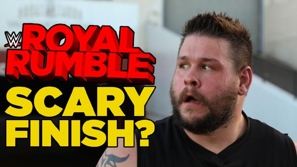 Kevin Owens scared royal rumble