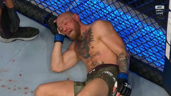 Conor McGregor defeated