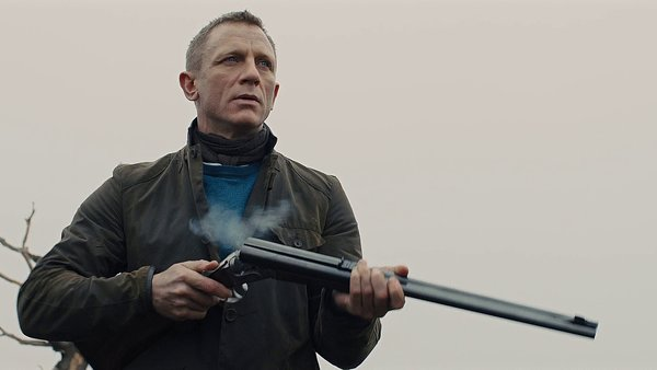 Skyfall James Bond Shotgun