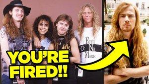 Dave Mustaine Metallica