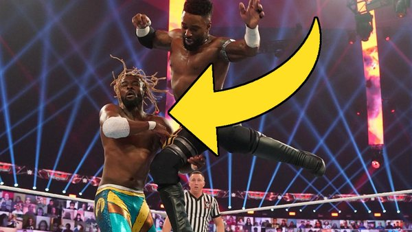 Kofi Kingston Cedric Alexander WWE TLC