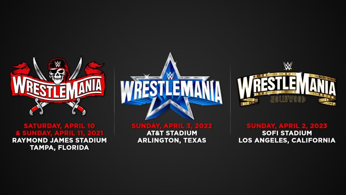 Wwe Wrestlemania 37 38 39 Dates Locations Confirmed