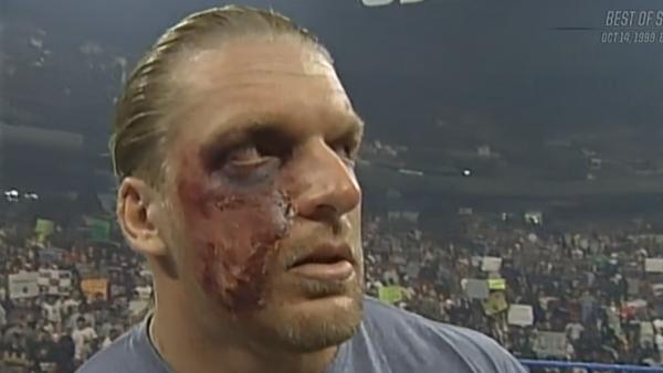 Triple H Rattlesnake Bite Face