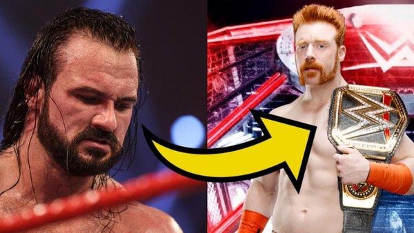 Drew McIntyre Sheamus WWE Title
