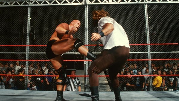 Steve Austin Mankind Hell In A Cell