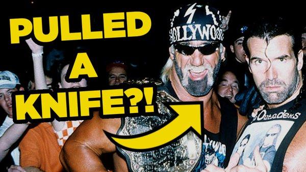 Hollywood Hulk Hogan Scott Hall WCW Knife